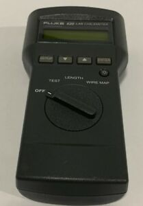 Fluke 620 Lan Cablemeter Cable Tester Only
