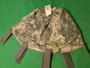NEW!! ISSUE US MILITARY ACU LG  XLG ACH HELMET COVER