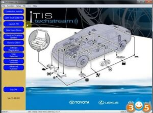 Latest Techstream 2018 Toyota Lexus Scion Tis Software V13 00 022 For Vci J2534