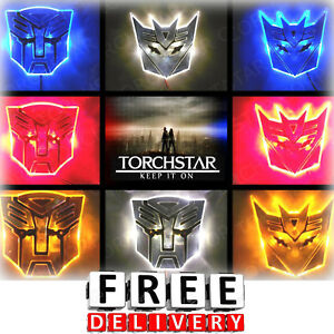 Autobot Car Emblem Led Transformers Decepticon Transformers Logo Emblem Self New