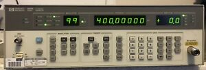 Hp 8656b Signal Generator 0 1 To 990 Mhz Am Fm