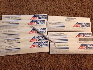 American Dental 23 Explorer Cv4 Peridontal Probe Lot Of 10 New