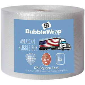Bubble Wrap Bundle For Packing Shipping Moving Original Cushioning Wrapping Air