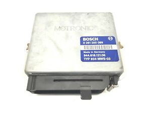 Genuine Porsche 944 2 7 1989 Engine Control Unit Ecu 944 618 121 06