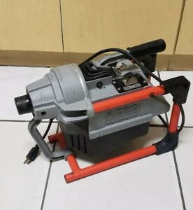 Ridgid K 60sp Compact Sectional Drain Cleaning Machine 7 8 22mm 115v 7 0 Amp