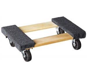 Furniture Moving Dolly 12 x18 Movers Heavy Duty Caster Appliance Professional