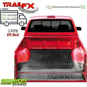 Trailfx Drop In Rubber Truck Bed Mat Fits 2017 2019 Ford F 250 F 350 Sd 8 Bed