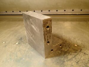 4 1 4 X 4 X 3 Toolmaker s Precision Right Angle Plate 90 Degree Fixture Block