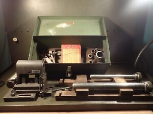 Weldon End Mill Tool Sharpening Grinding Air Flow W Sub Base Accessories Used