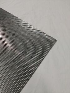 Perforated Metal Aluminum Sheet 1 16 Thickness 24 X 24 1 8 Hole 3 16 Stagger