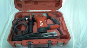 Milwaukee 1 1 8 Sds plus Rotary Hammer Model 5268 21 W bits