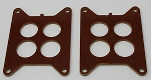 New 1959 62 Carter Afb 2x4 Inline Phenolic Carb Spacers