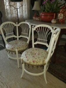 Antique Pair Of French Art Nouveau Chairs