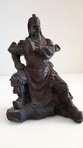 Chinese Warrior Statue Valiant Dragon Guan Gong Guan Yu