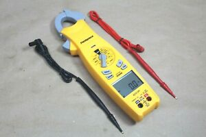 Fieldpiece Sc640 True Rms Clamp Meter Digital Multimeter Trms W Leads New