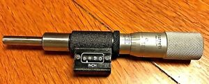 Used Starret No 363 Digital Micrometer Head