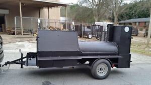 Deep Fryer Option Bbq Smoker 36 Grill Cooker Trailer Food Truck Catering Event