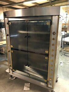 2006 Rotisol 1350 8 Natural Gas Chicken Food Meat Rotisserie Oven Cooker