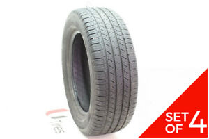 Set Of 4 Used 245 60r18 Michelin Latitude Tour Hp 104h 5 5 6 32
