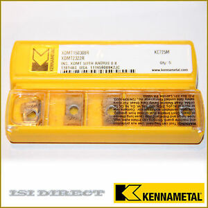 Xdmt 2322r Kc725m Kennametal 10 Inserts Factory Pack