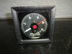 Gossen Long Scale Analog Panel Meter Gauge