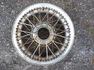 Jaguar Xk 140 Used Dunlop 60 Spoke 5 X 16 Wire Wheel Drc 5k 16 Pl Xa 456