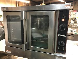 2015 Hobart Hec5 Commercial Electric Countertop Full Size Convection Oven 208v