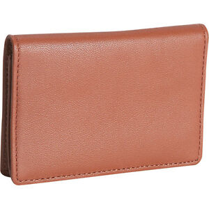 Royce Leather Men s Business Card Case Tan Business Accessorie New