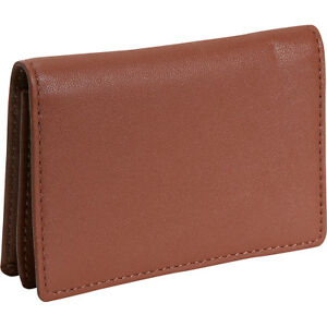 Royce Leather Business Card Holder Tan Business Accessorie New