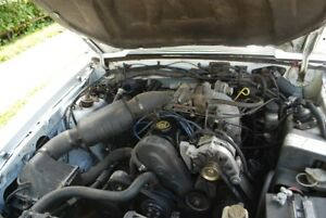 1987 1990 Ford Mustang Engine Assembly 2 3l 2540269 And Transmission