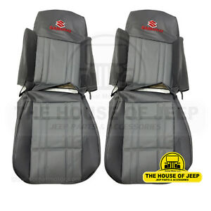 Oem Front Rear Seat Covers Gray Color Fits 1986 1995 Suzuki Samurai