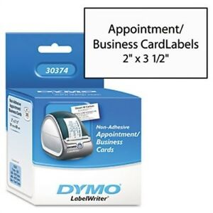 Business appointment Cards 2 X 3 1 2 White 300 box X 2