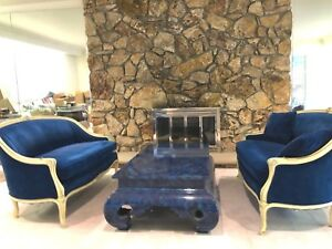 Victorian Sofas With Matching Coffee Table