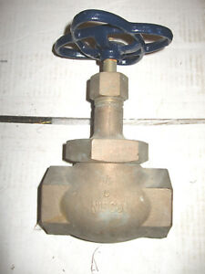 Nibco Globe Valve 1 1 2 T 276 ap Threaded