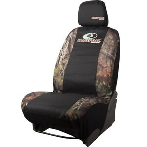 Mossy Oak Universal Camo Low Back Car Automotive Seat Cover Break Up Country New