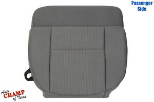 2007 2008 Ford F150 Xlt Brand New Passenger Side Bottom Cloth Seat Cover Gray