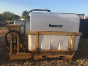 Vermeer St 500 Gal Mud Mixing Tank Directional Drill