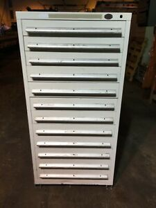 Nu era High Density Tool Cabinet 12 Drawer Nice Condition