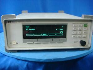 Agilent 86120c Multi wavelength Meter
