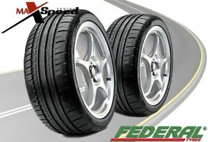 Qty Of 2 Federal 595 Rpm 335 30zr20 104y Ultra High Performance Tires
