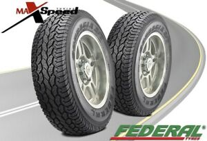 Qty Of 2 Federal Couragia A T Owl 3095015 104q Owl All Terrain Tires