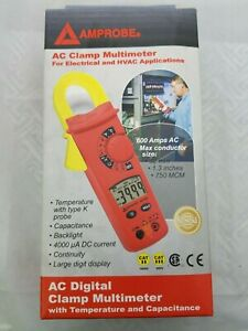 Amprobe Ac75b Ac Clamp Multimeter Dmm For Electrical And Hvac Applications Dmm