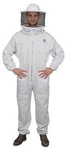 Humble Bee 410 Polycotton Beekeeping Suit With Round Veil large