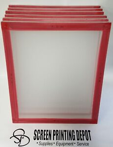 Screen Printing Frame 20 X 24 110 160 Mesh High Tension 30 Newton 6 Pack