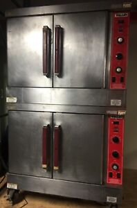 Vulcan Convection Gas Ovens Dual Stack