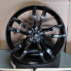 Bmw X5 X6 M Style 20x10 11 5x120 40 37 Gb Wheels Set Of 4 Fit F15 X5