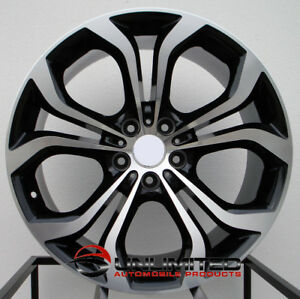 20x9 5 10 5 5x120 45 40 Black Machined Face Wheels set Of 4 Fit Bmw X5m X6m