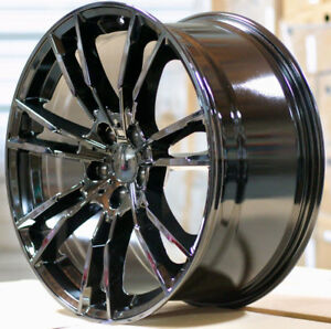 20 M5 Style Gloss Black Wheels Fit Bmw G30 530i 535i 540i 550i