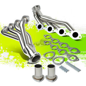 For Chevy gm A body Big Block Bbc 396 502 454 V8 Exhaust Manifold Shorty Header