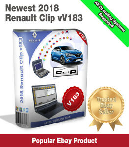 Newest Renault Clip 183 Diagnostic Software 2018 Download Version